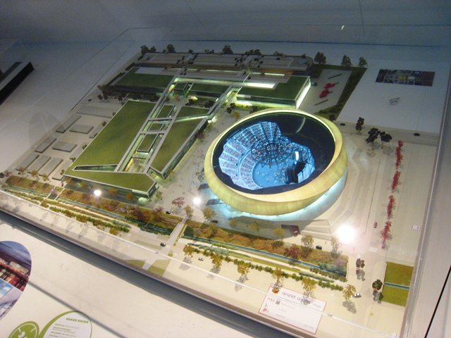 arena maquette
