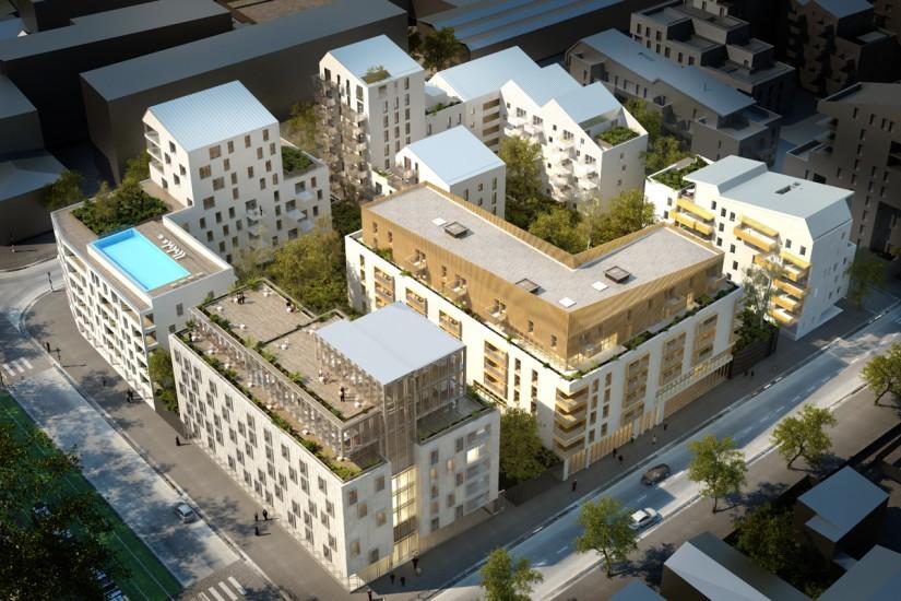 Bordeaux quartier bordeaux maritime skyscrapercity for Appartement bordeaux rue lucien faure