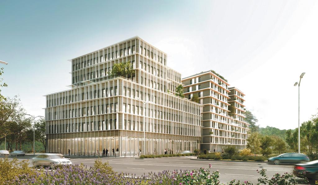 «Perspective» et «Résiden?ciel»: bureaux et logement